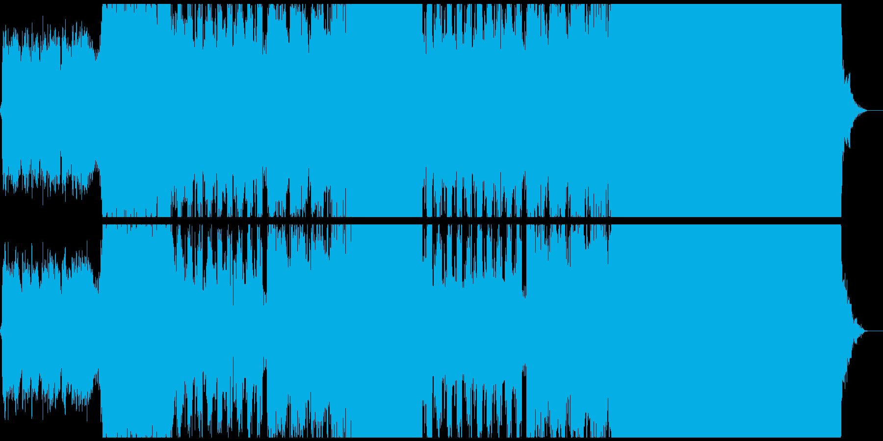 徒労の再生済みの波形
