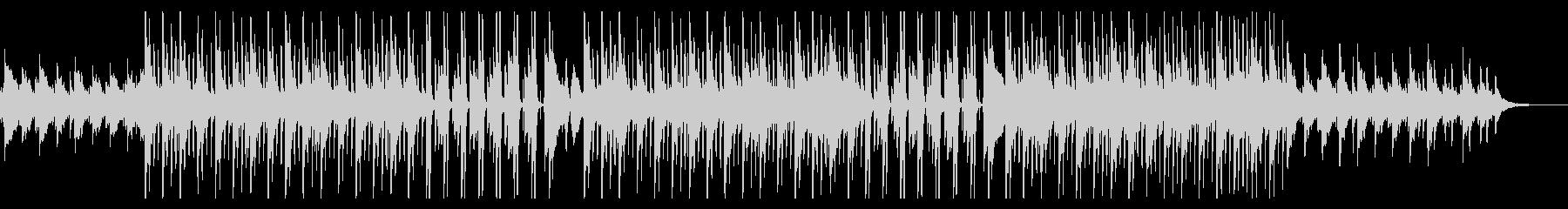 オープニングに!ピアノ中心の4つ打ち曲の未再生の波形