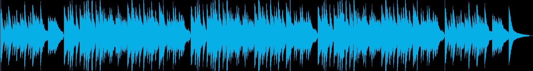 春がきた(童謡)ピアノ&ストリングスの再生済みの波形