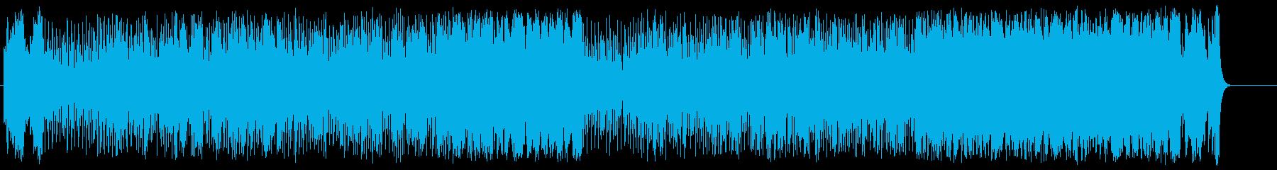 スリル感とゴージャス感を合わせ持つ夜の再生済みの波形