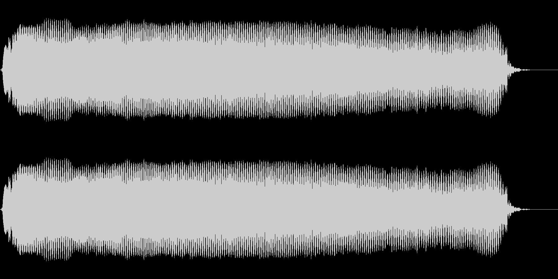 ピーーーー!◇ホイッスル、笛(ロング)の未再生の波形