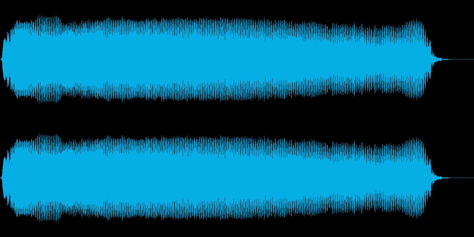 ピーーーー!◇ホイッスル、笛(ロング)の再生済みの波形