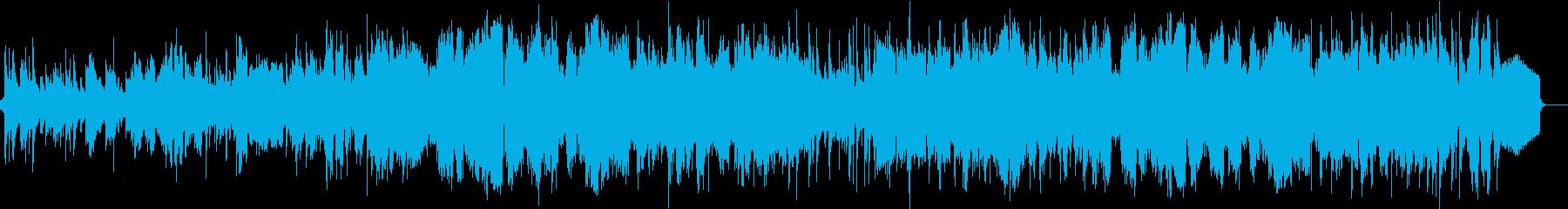 優しいフルートの旋律 大自然のハーモニーの再生済みの波形