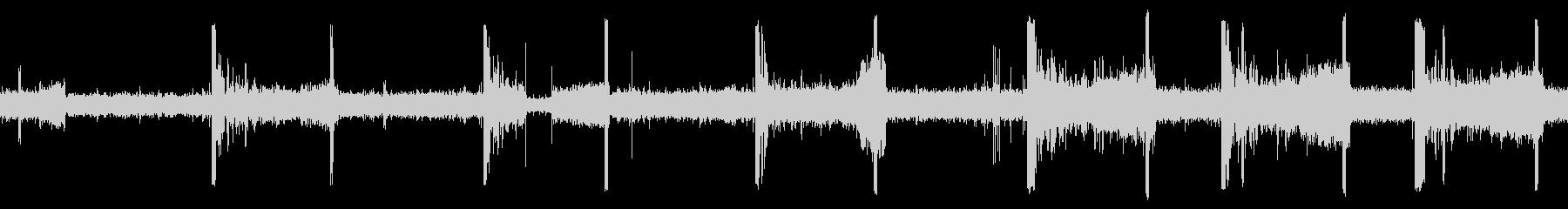 潜水艦コントロール、ビープ音の未再生の波形