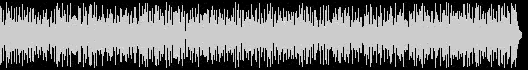 Romantic gentle cute jazz BGM's unreproduced waveform