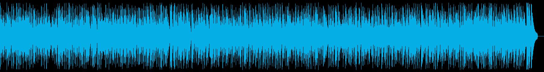 Romantic gentle cute jazz BGM's reproduced waveform