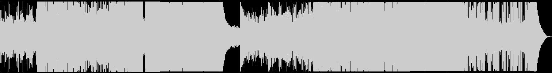 リズム感のあるBIG ROOM EDMの未再生の波形