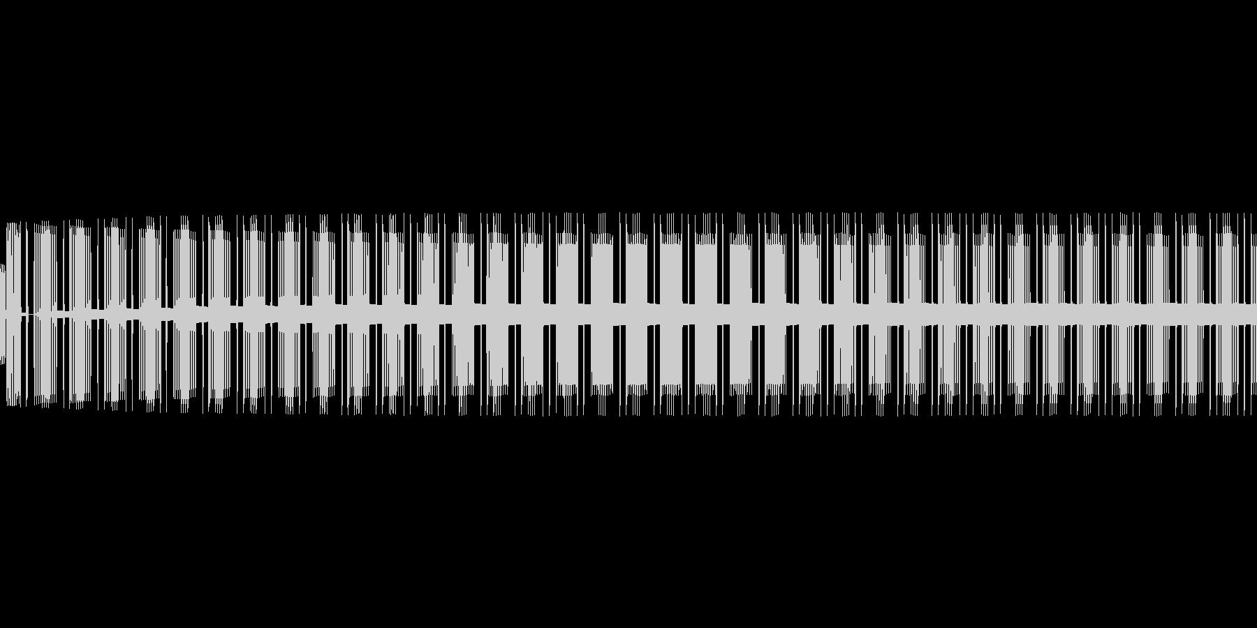 ビー(エラー/警告/アラート/8ビットの未再生の波形