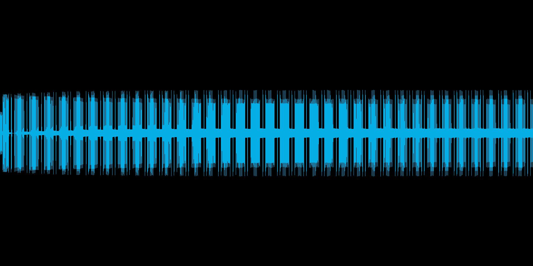 ビー(エラー/警告/アラート/8ビットの再生済みの波形