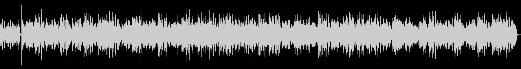 ジ・エンターテイナー ラグタイム ピアノの未再生の波形