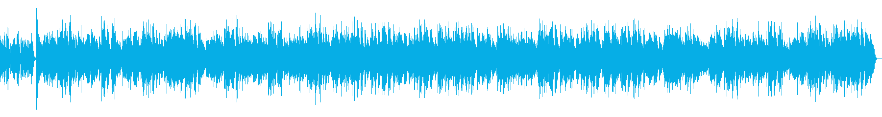 ジ・エンターテイナー ラグタイム ピアノの再生済みの波形