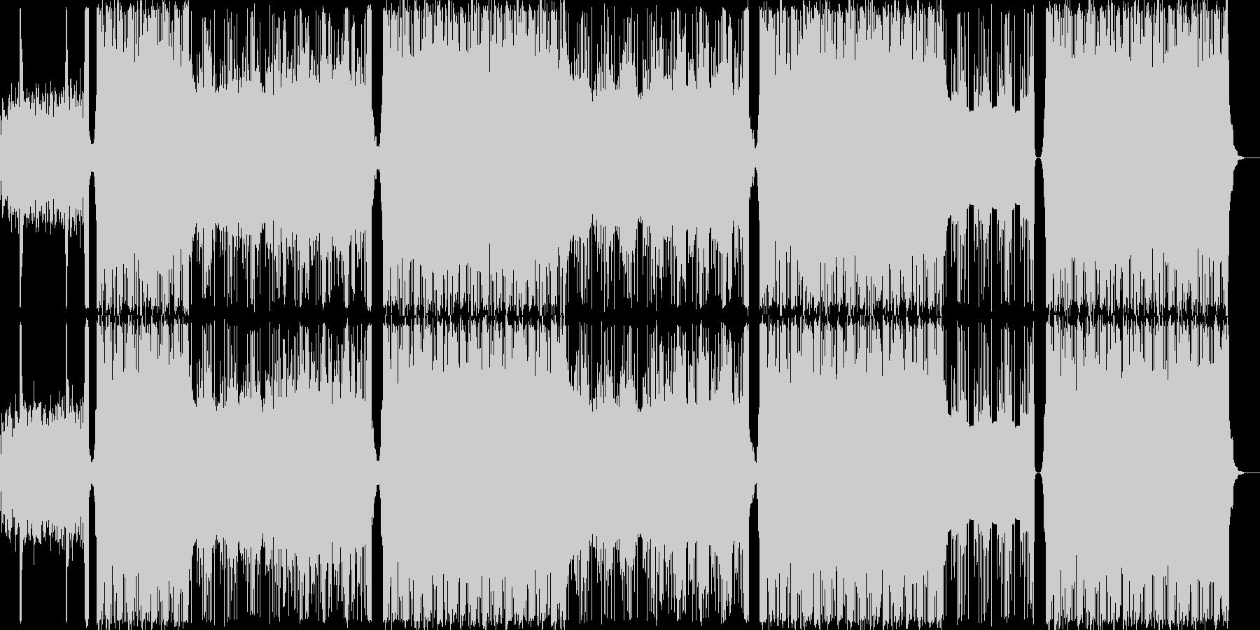 ヒップホップ/ダーク/クランク/#1の未再生の波形
