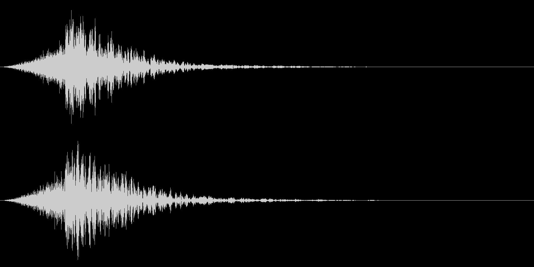 シュードーン-38-4(インパクト音)の未再生の波形