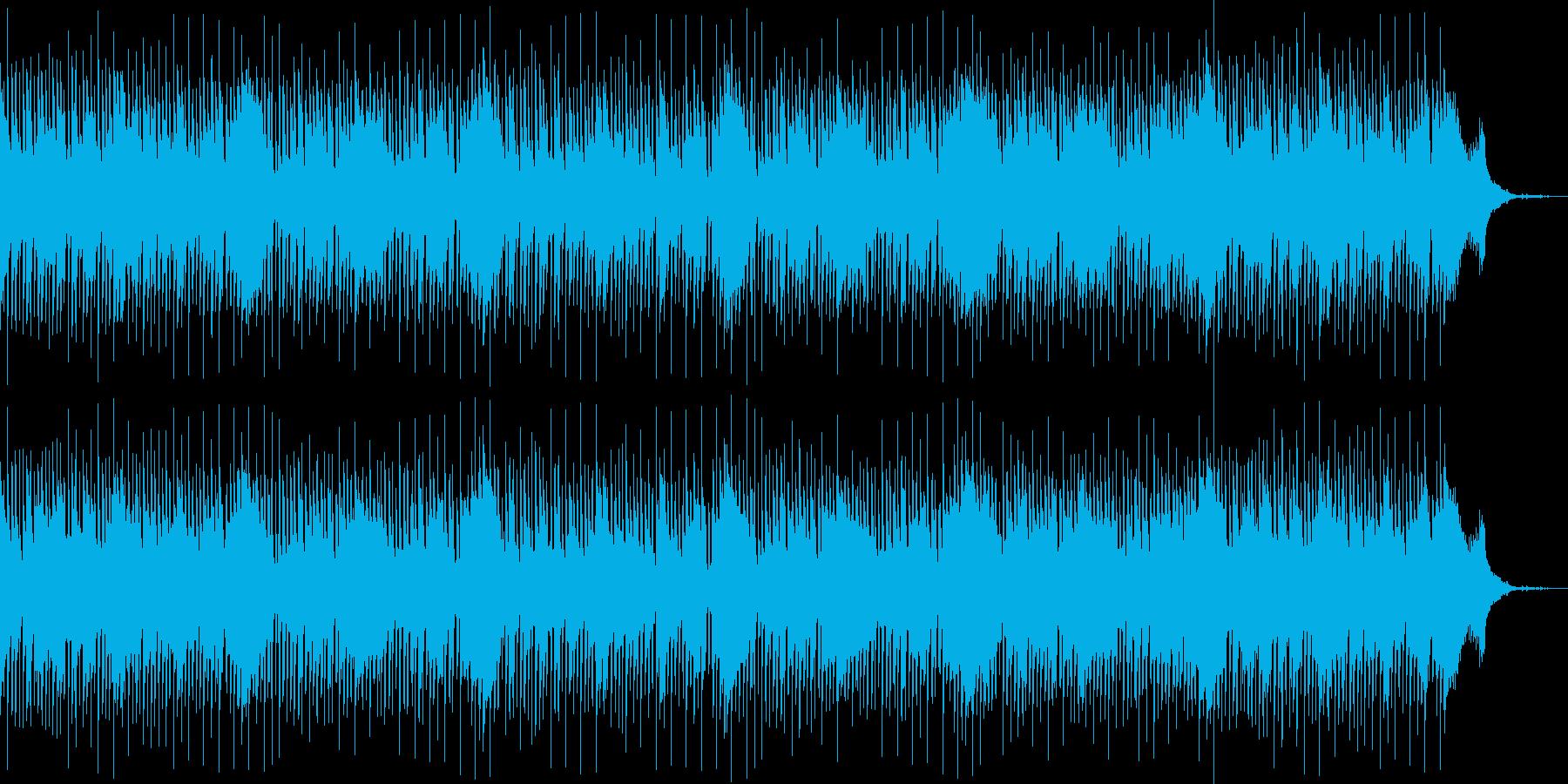 生演奏サックス・おしゃれジャズ・ゆったりの再生済みの波形