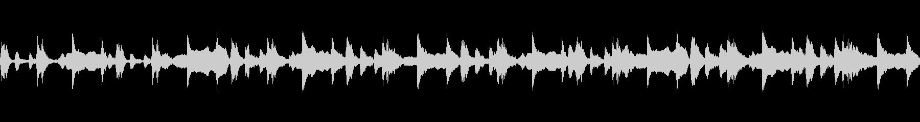 ほのぼのしたまったりシーンで使えるBGMの未再生の波形