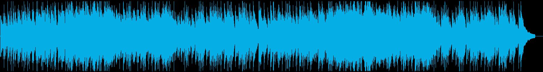温かい日常 会話シーン向けの曲の再生済みの波形