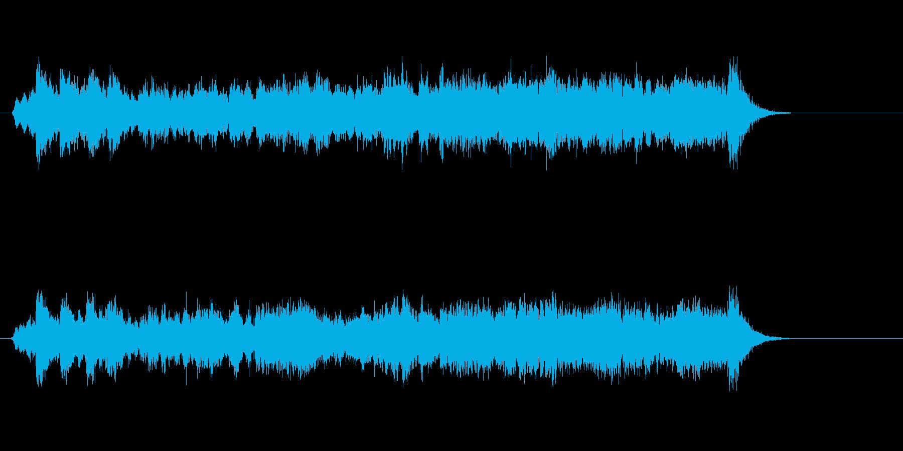 テーマ19:フルミックスの再生済みの波形