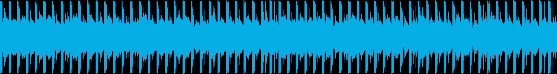 運動・フィットネス/30秒ループ曲1の再生済みの波形