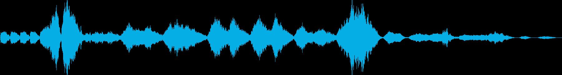 交響曲第9番「新世界より」第2楽章の再生済みの波形
