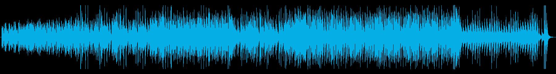 平穏な日常・ほのぼのとあたたかいBGMの再生済みの波形