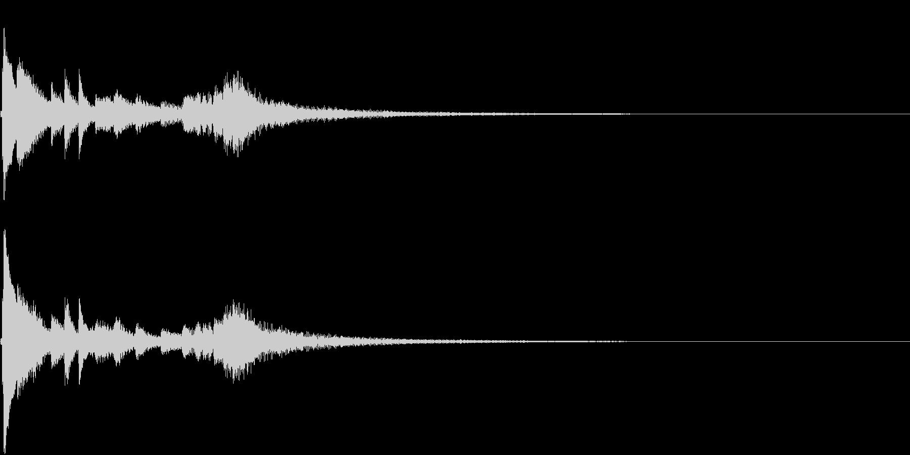お正月 琴 和風 日本 和楽器 7の未再生の波形
