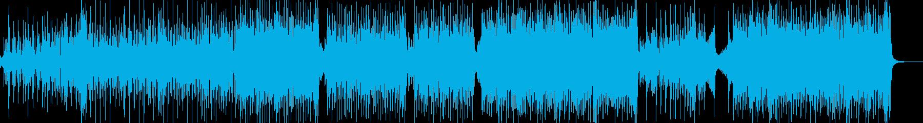 弱肉強食・原始時代イメージのテクノ Bの再生済みの波形
