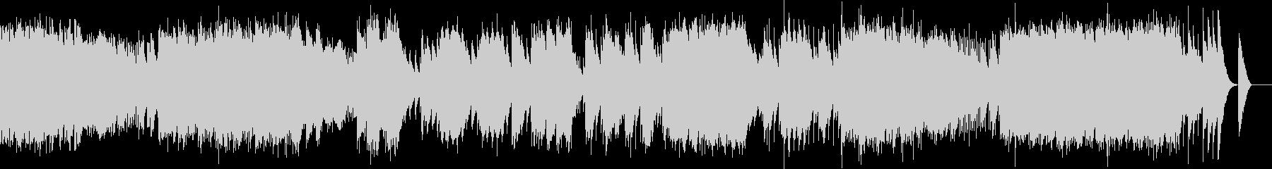 小組曲 2.行列(オルゴール)の未再生の波形