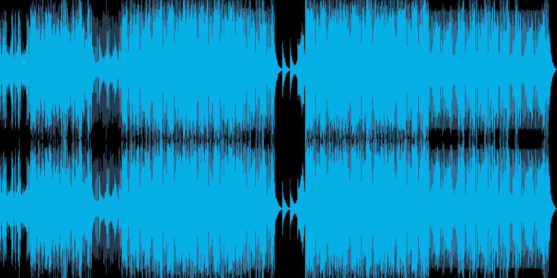 【ミステリアス】ディープなテックハウスの再生済みの波形