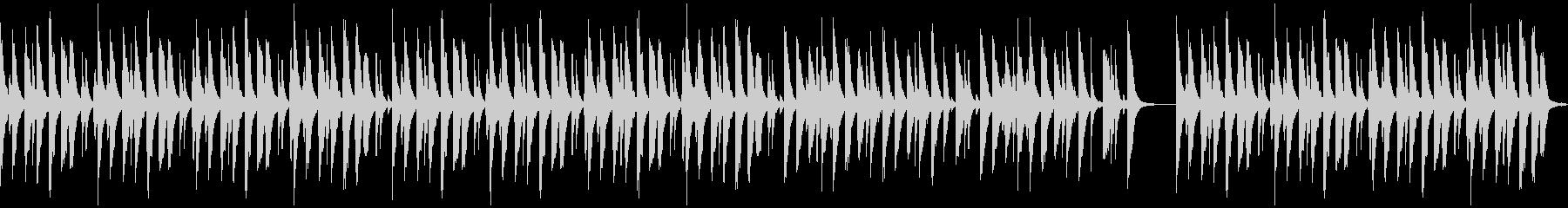 劇伴・コミカルなBGM:4の未再生の波形