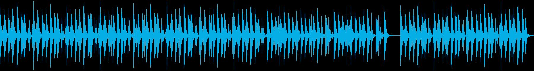 劇伴・コミカルなBGM:4の再生済みの波形