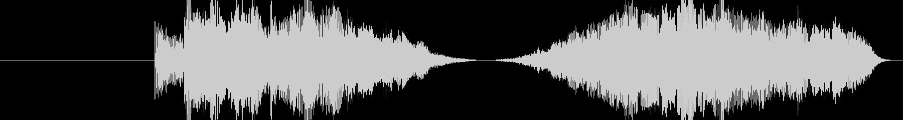 ワープ系の移動音の未再生の波形