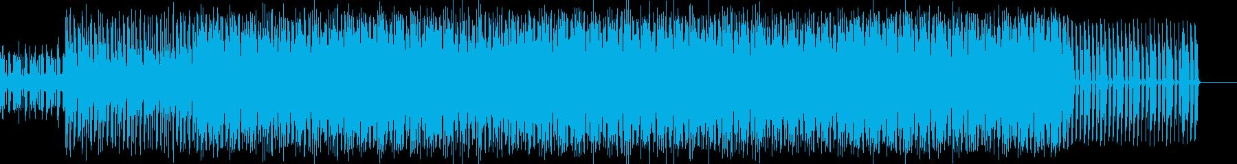 疾走感に支配された肯定的なビートの再生済みの波形