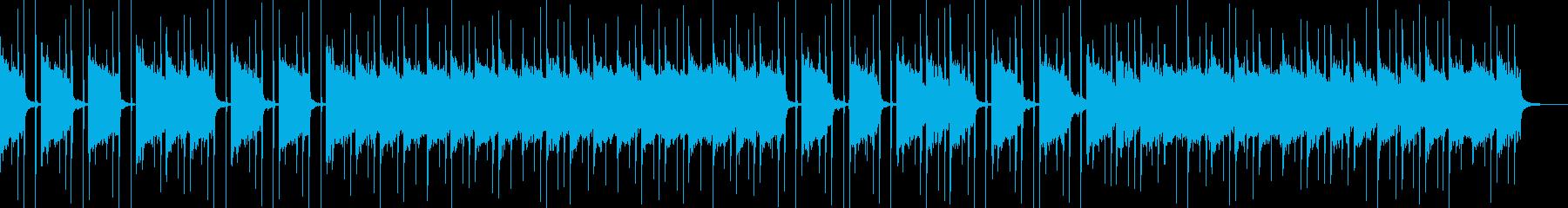 おちついた雰囲気のエレピバラードの再生済みの波形