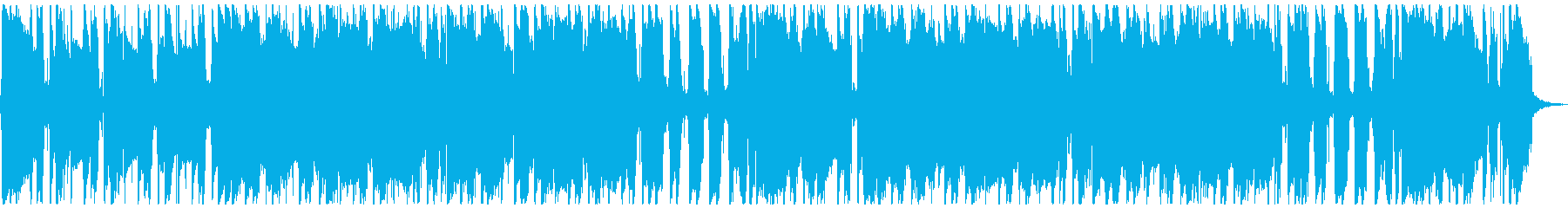 サックスメインのルーズなファンクロックの再生済みの波形