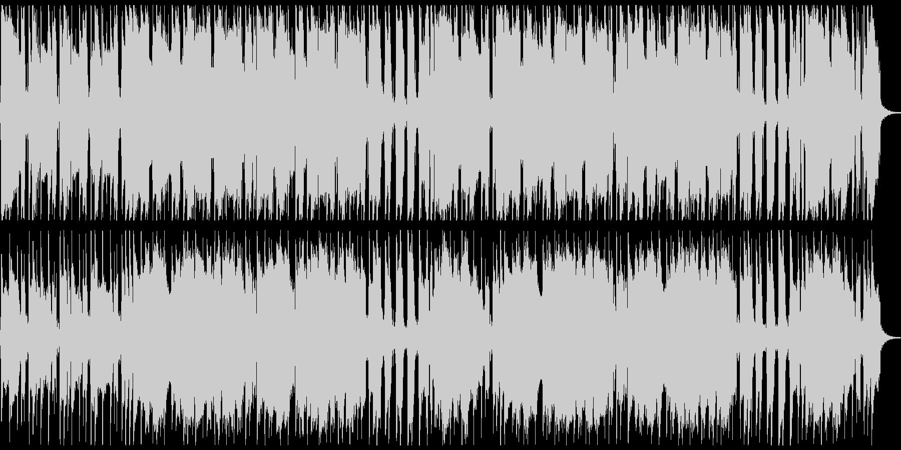 サックスメインのルーズなファンクロックの未再生の波形