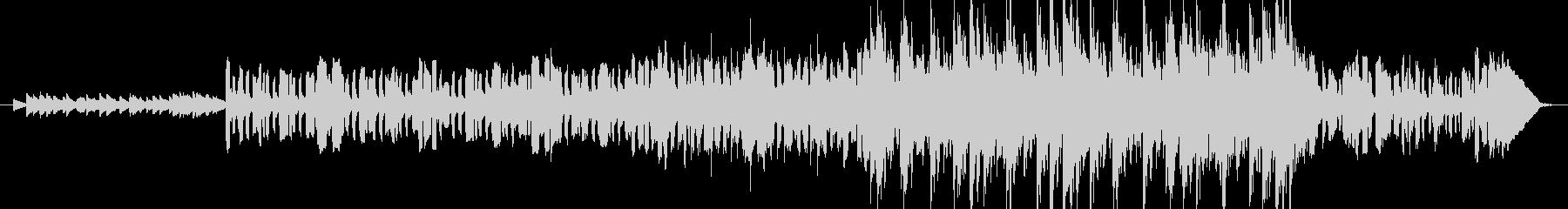 ケルト風のイントロミュージックの未再生の波形