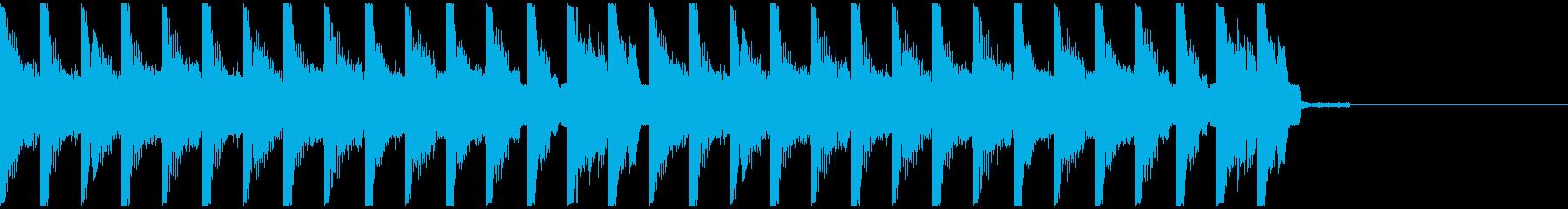 オシャレ・戦闘・スリリングEDM、⑥の再生済みの波形