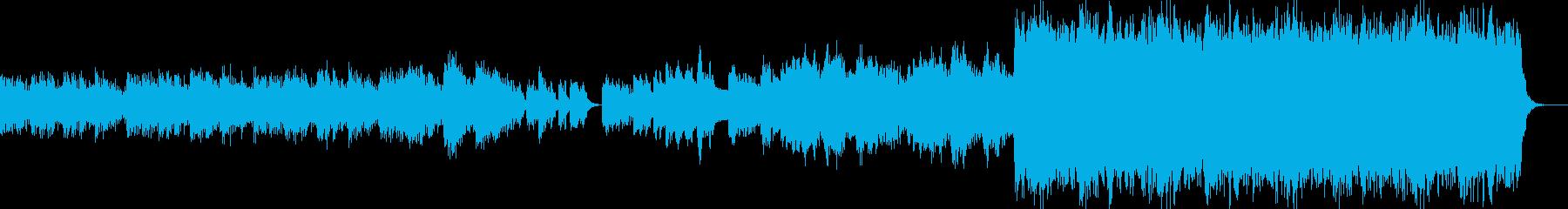 謎に満ちたピアノのリフは、奇妙な緊...の再生済みの波形