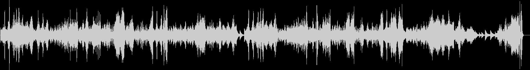 ベードベン 月光 第三楽章 ピアノの未再生の波形