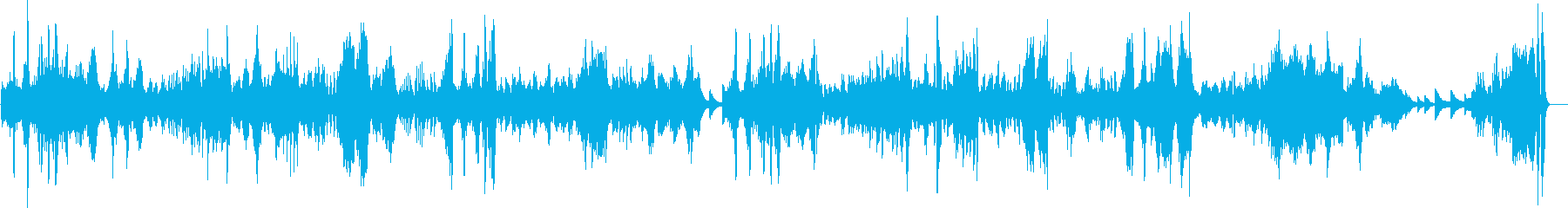 ベートーヴェン 月光 第三楽章 ピアノの再生済みの波形