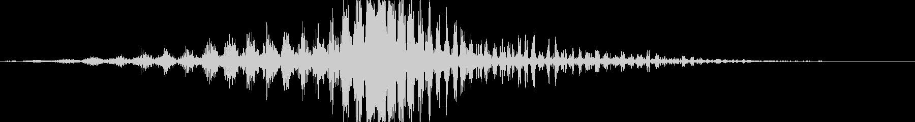 CINEMATIC WHOOSH 03の未再生の波形