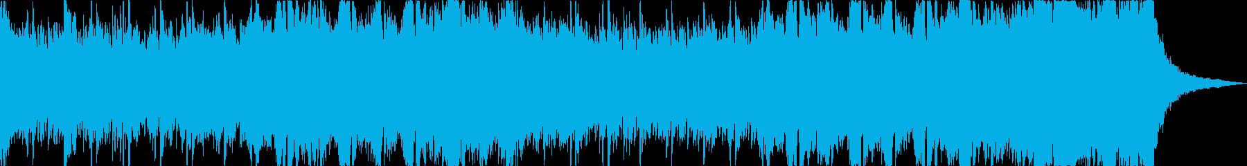ホラーの再生済みの波形