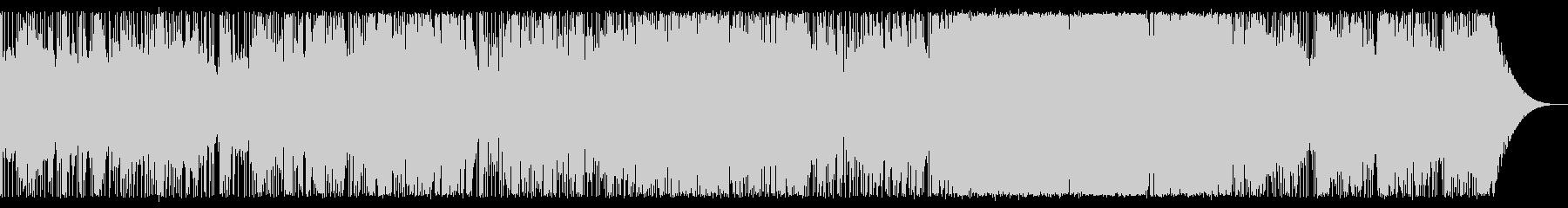ゆったりとしたアンビエントロックの未再生の波形