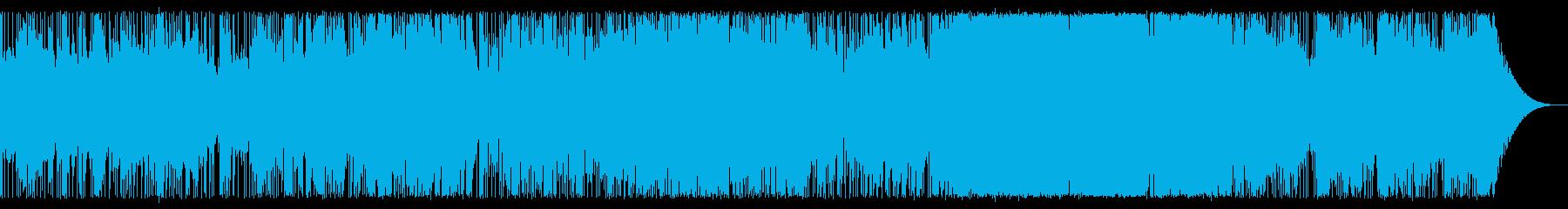 ゆったりとしたアンビエントロックの再生済みの波形