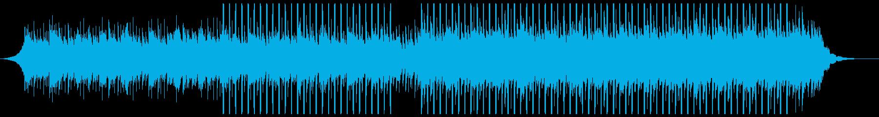 コマーシャル(中)の再生済みの波形