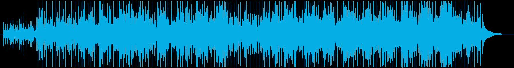 カレー屋の再生済みの波形