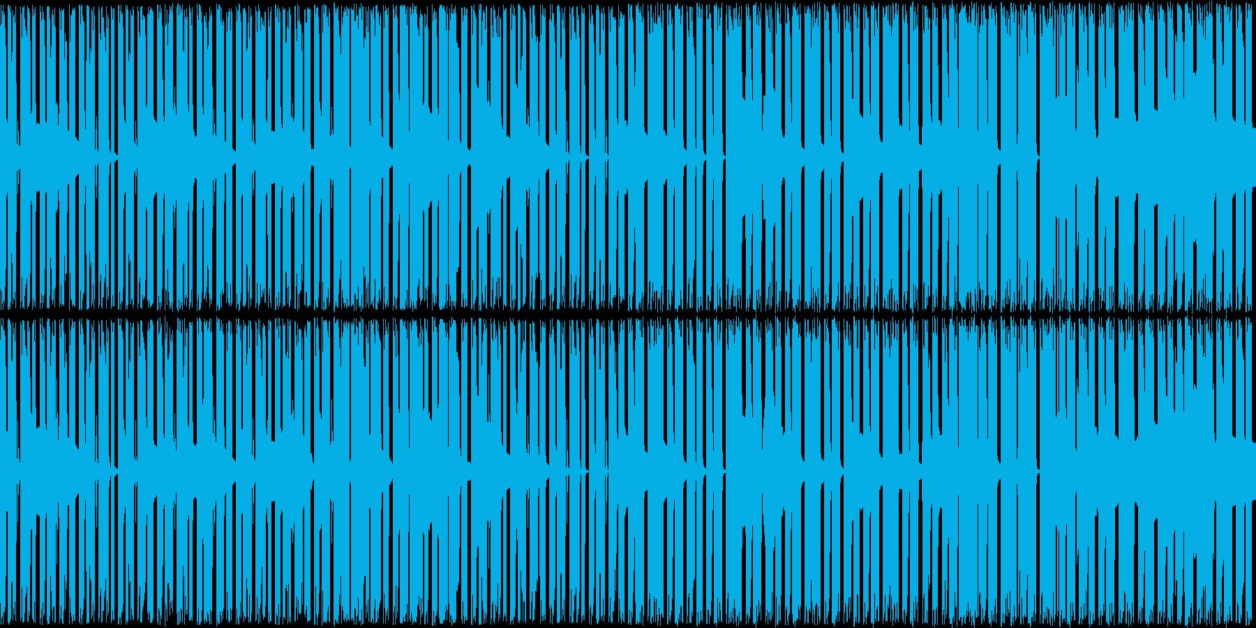 ベースが主体の曲ですの再生済みの波形