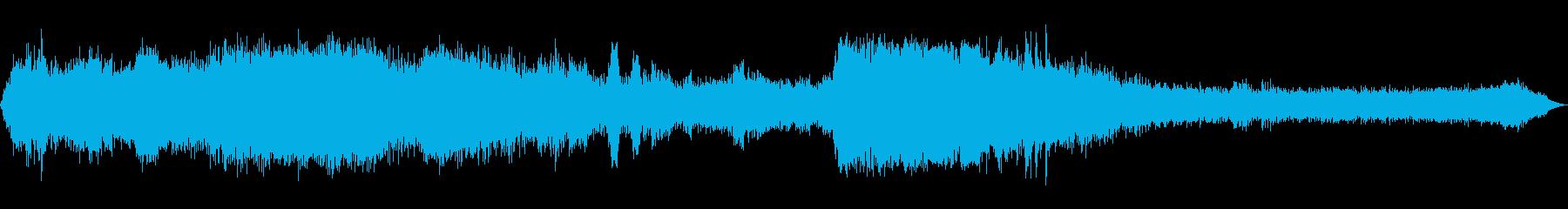 INT:ラフギアシフトで減速するの再生済みの波形