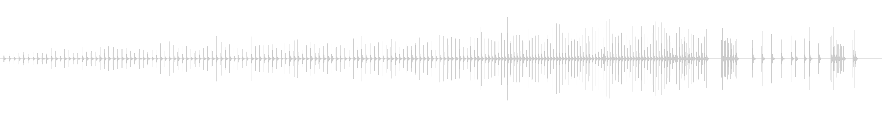 木琴11歌舞伎黒御簾下座音楽和風日本マリの未再生の波形
