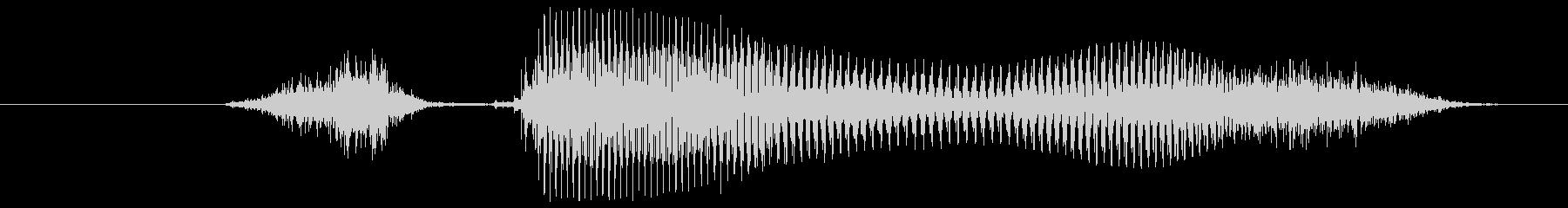 ステージ○○(英語Stage)パターンBの未再生の波形
